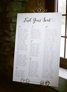 Wedding Seating Chart Poster Size Poster Size Seating Chart Elizabeth Anne Designs The