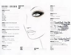 Face Chart Brown Face Charts For Some Gorgeous Makeup From Brown