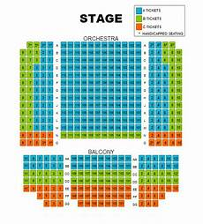 The Harv Seating Chart General Information Whbpac