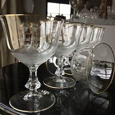 bicchieri di boemia moser eleganti bicchieri da set di 6 cristallo