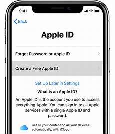apple account support how to create a new apple id apple support