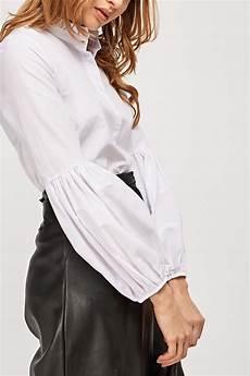 balloon sleeve balloon sleeve white shirt just 6