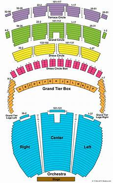 Usher Hall Seating Chart St Louis Concert Tickets Seating Chart Powell