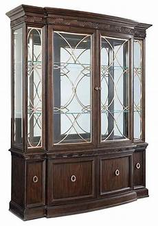 curio china cabinet contemporary display and wall