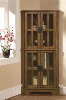 coaster curio cabinets 950185 4 shelf corner curio cabinet