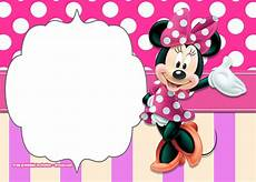 Printable Minnie Mouse Invitations Free Free Printable Minnie Mouse Polka Dot Invitation Templates