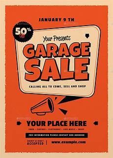 Garage Sale Flyers Examples Retro Garage Sale Flyer By Guper Graphicriver