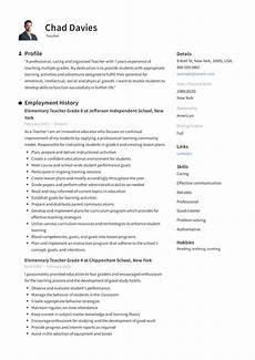 Resume Sample For Teaching Position Teacher Resume Amp Writing Guide 12 Samples Pdf 2019