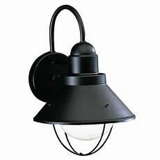 Kichler Outdoor Wall Light Kichler Outdoor Wall Light In Black Finish 9022bk