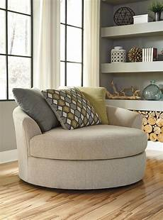 oversized accent chairs casheral linen oversized swivel accent chair from