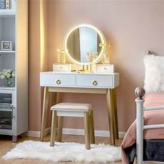 with simple and modern style the vanity table shows an