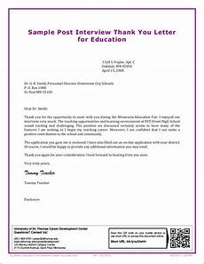 Sample Post Interview Thank You Letter Free 11 Interview Thank You Letter Samples Amp Templates In Pdf