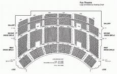 Fox Theater Detailed Seating Chart Fox Theatre Seating Chart Pdf Brokeasshome Com