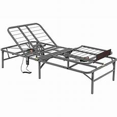 electric adjustable bed frame xl remote foot