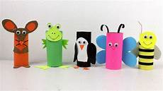 5 easy paper roll crafts animals toys for to do