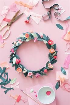 diy paper floral crown the house that lars built
