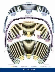 Las Vegas O Show Seating Chart O Show Las Vegas By Cirque Du Soleil Bachelor Vegas