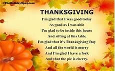Thanksgiving Poems Short Poems On Thanksgiving Best