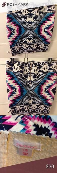 Aztec Design Skirts Aztec Print Skirt Aztec Print Skirt Aztec Print