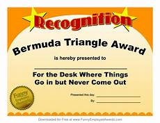Funny Employee Award Certificates Funny Certificate Template Funny Award Certificate