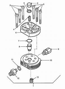 Figure 4 11 Valve Head Assembly Third Stage