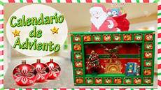 calendario de abviento calendario de adviento diy navidad youtube
