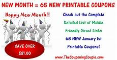 New Year Coupons 65 New Printable Coupons To Start January 2018 Happy New