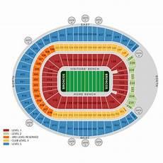 Denver Broncos Club Level Seating Chart Denver Broncos Ticket And Seating Information
