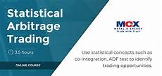 Statistical Arbitrage Statistical Arbitrage Trading Strategies Course