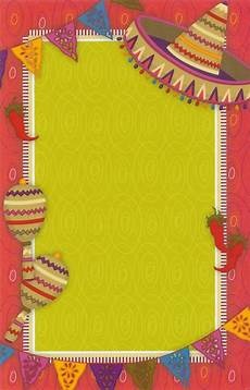 Fiesta Border Template Fiesta Invitation Cards And Free Printable Fiesta