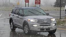 2020 Ford Explorer Linkedin by 2020 Ford Explorer Spied Partially Uncamouflaged In