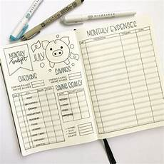 Expenses Journal 10 Brilliant Budget Trackers For Your Bullet Journal