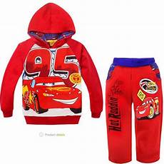 cars clothes for toddlers 2019 baby boys lighting mcqueen terry thick winter set