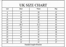 Nha Khanh Size Chart Uk Sizing Chart Google Search Dress Size Chart Size