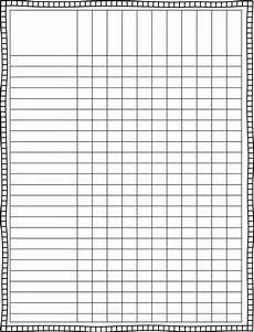 Teacher Grade Sheet Template 6 Best Images Of Individual Grade Sheets Templates
