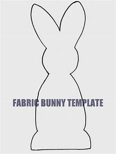 Printable Bunny Template Ben Franklin Crafts And Frame Shop Monroe Wa Easy Diy