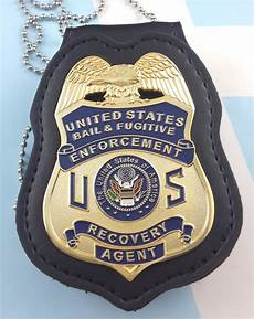 Bail Recovery Agent Bail Amp Fugitive Enforcement Recovery Agent Metal Badge 2 3