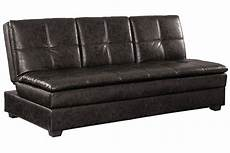 leather futon brown leather convertible sofa bed kingsley serta sofa