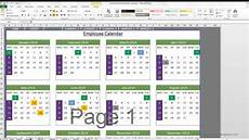 How To Make A 12 Month Calendar In Word Event Calendar Maker Excel Template Youtube