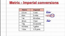 Math Conversion Tables Gcse Maths Revision Compound Measures 3 Conversion