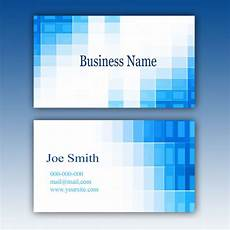 Business Card Template Word Free Download Blue Business Card Template Free Psd File