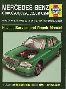 1993 2000 Mercedes C Class Gas And Diesel Haynes Repair
