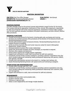 Medical Administration Job Description Modern Office Manager Job Description Sample Medical