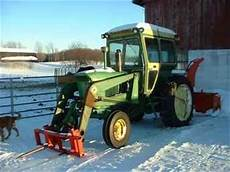 Used Farm Tractors For Sale John Deere 3020 W Loader