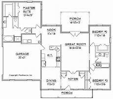 Floor Plans Free Plan J2015 Plansource Inc