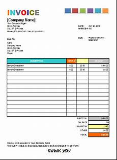 House Cleaning Invoice Example Pin By Alizbath Adam On Microsoft Excel Invoices Invoice