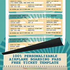 Sample Boarding Pass Template Printable Airline Boarding Pass Template Free Printables