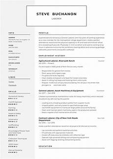 Resume Examples For Laborer General Laborer Resume Amp Writing Guide 12 Free