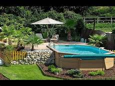 Above Ground Swimming Pool Designs 61 Georgeous Above Ground Pool Ideas With Decks Swimming