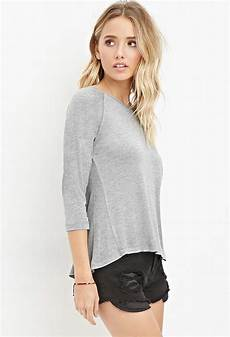 grey slub knit top gecko